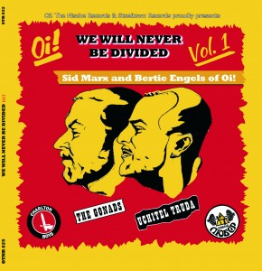 The Gonads / Uchitel Truda - We Will Never be Divided Vol1. EP