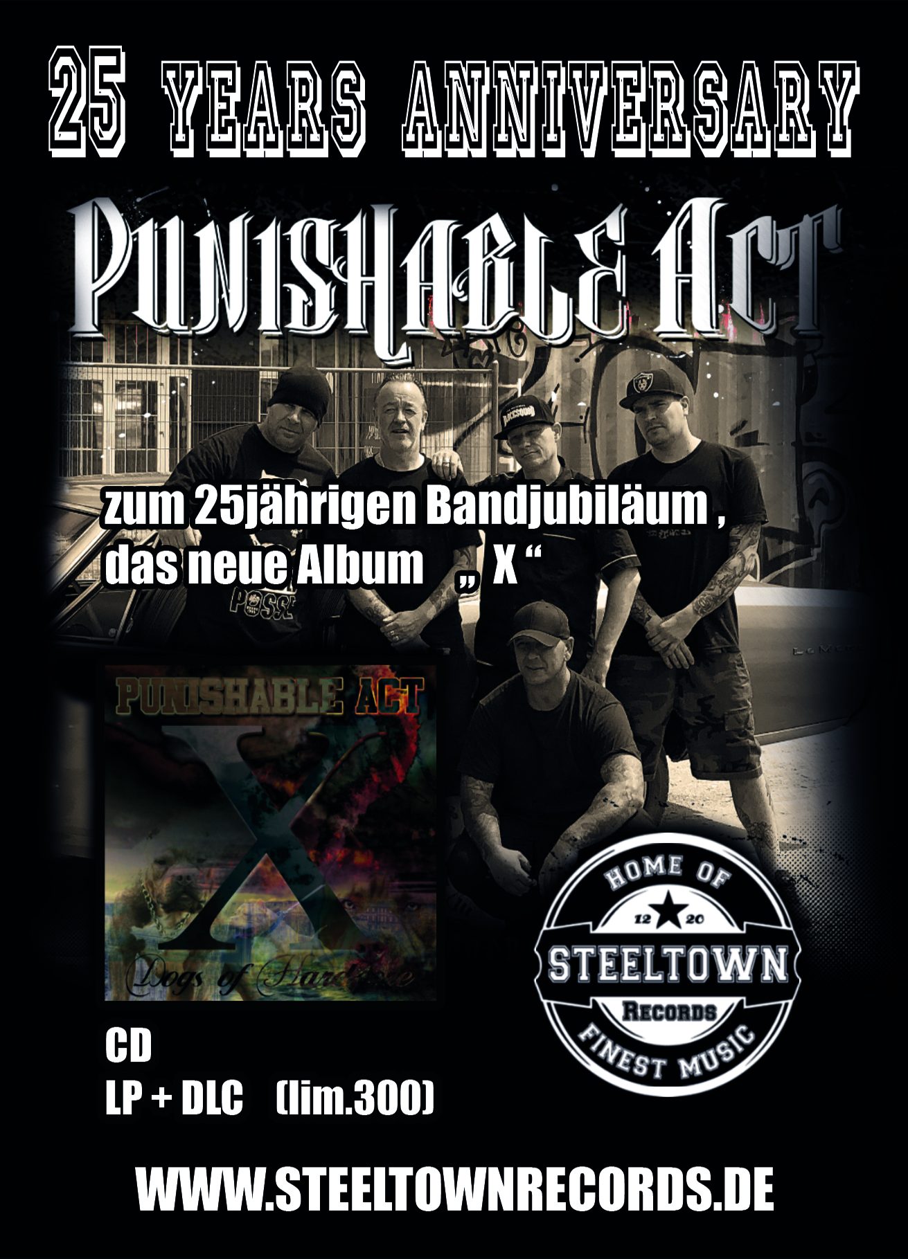 Punishable_Act_X_CD_LP_Steeltown_Records