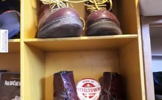 Ein Skinhead ohne Stiefel – Steeltown Records – East ain`t