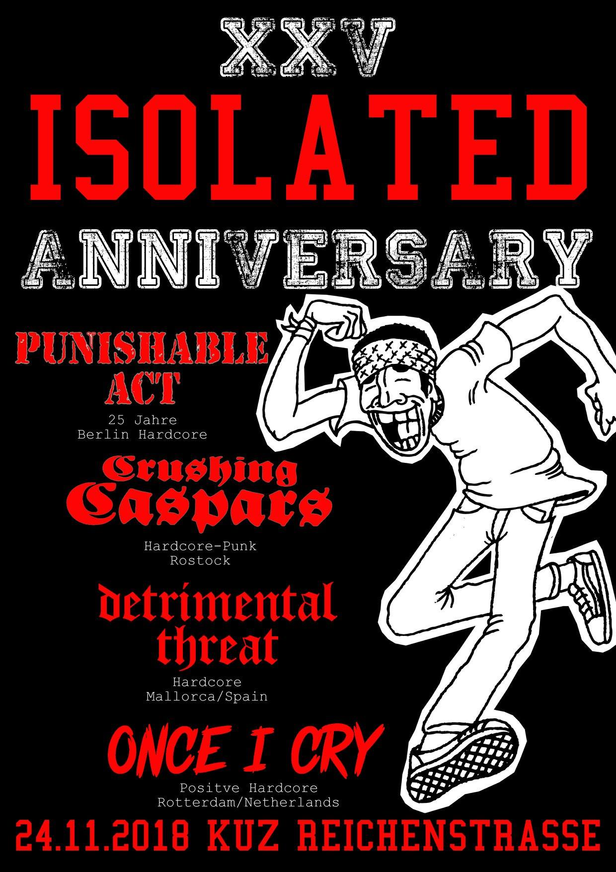 25 JAHRE ISOLATED!